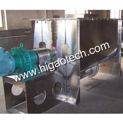 double helical ribbon mixer machine for stirring powder and liquid