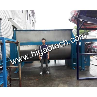double helical ribbon mixer machine