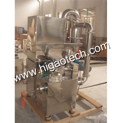 cosmetics grinding machine with cyclone dust collector