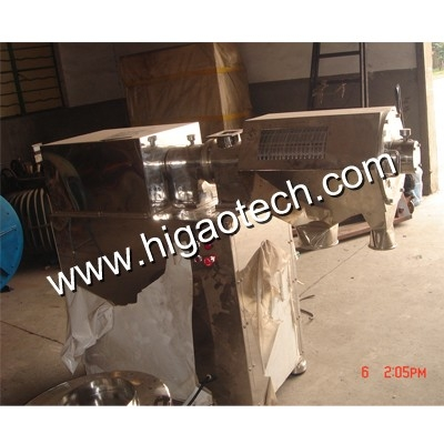 centrifugal sifting machine for dry materials