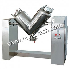 V shaped mixer for mixing powder